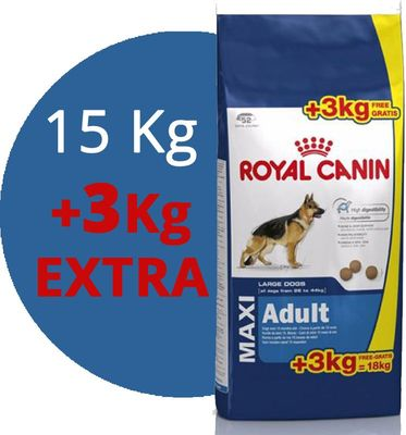 max adult, royal canin, 18kg